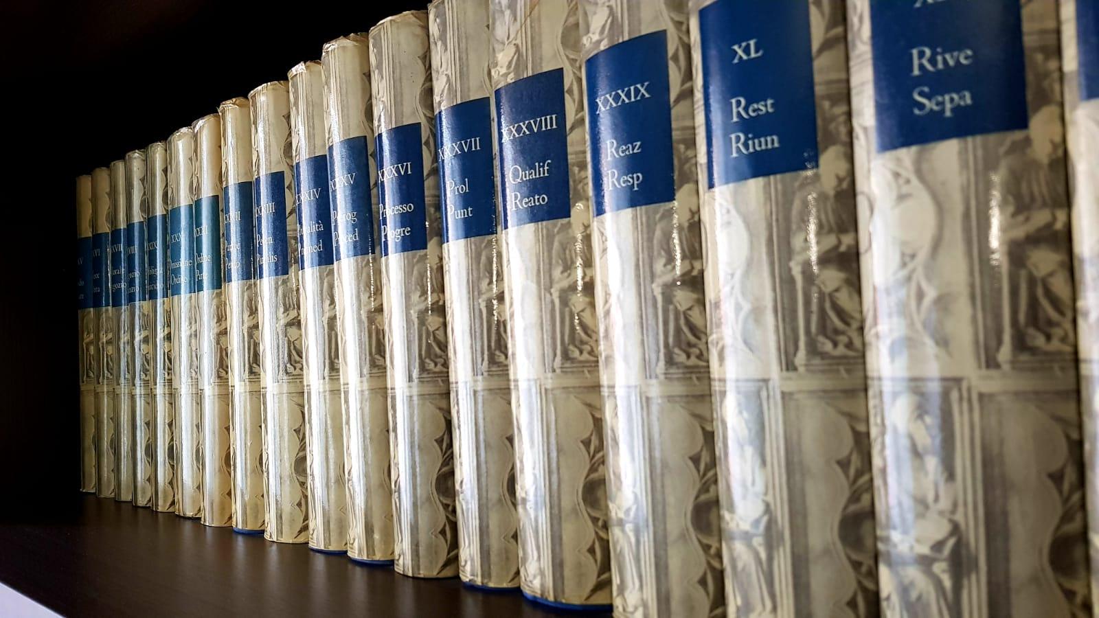 Libri di diritto Civile Studio Legale Spiga